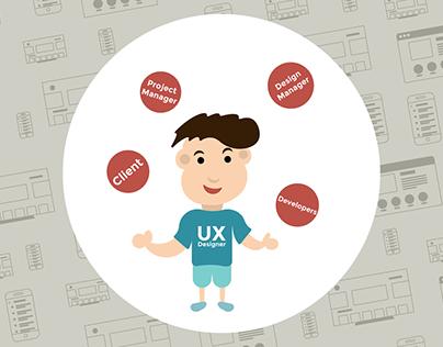 UX Designer Juggling