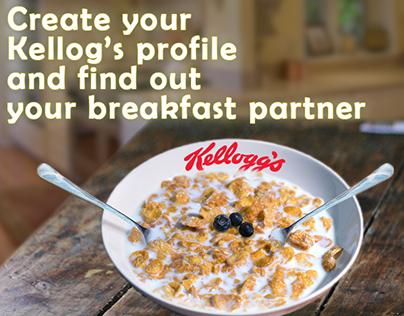 Breakfast for 2. -Kellogg's-