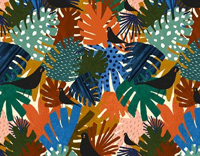 Jungle collection║ Fashion pattern