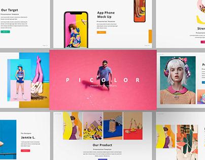 Picolor Brand Multipurpose Template