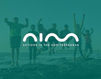 AIM - Logo, Webdesign