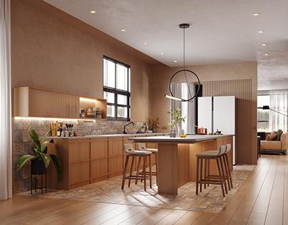 Conceptual interior design A (for LK&PROJEKT)