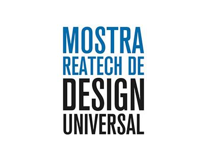 1ª Mostra REATECH de Design Universal
