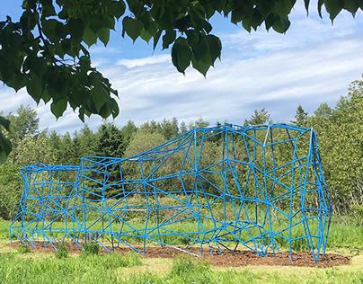 Jardins de Métis - Le Rocher très percé