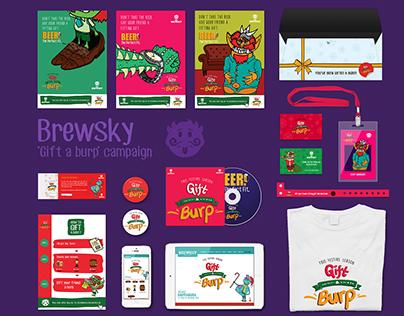 Brewsky- 'Gift a Burp' Campaign