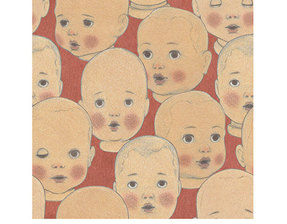 Nazca Culture Textile Illustration