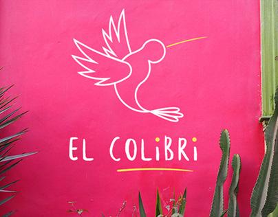 Logo & visual identity El Colibri