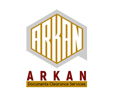 Arkan Documents Clearance Services logo design