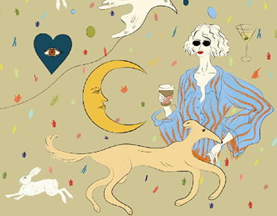 Fashion illustrations of the day