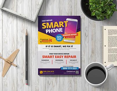 Mobile Phone Repair Flyer