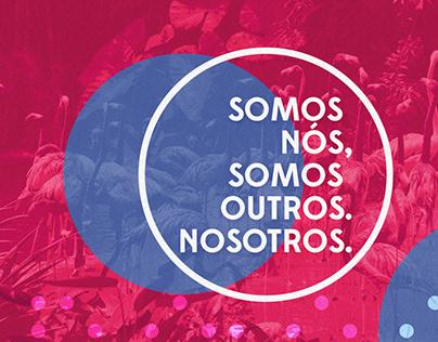 Site agência Nosotros | website for Nosotros agency