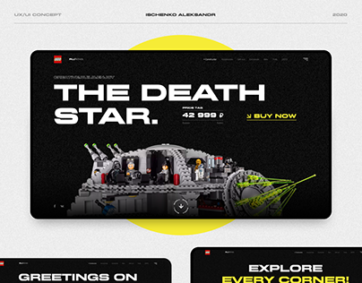 The Death Star - Web concept