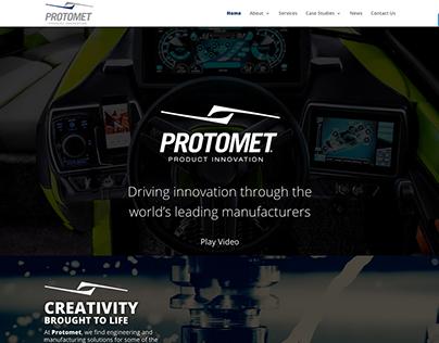Protomet Website Design