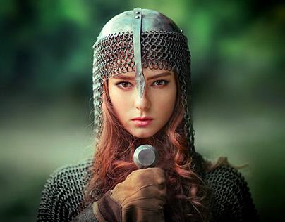 Girl- knight