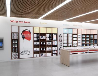 Verizon Total Customer Experience Retail Redesign.