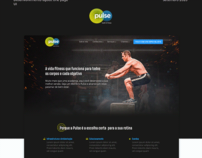 Layout OnePage - Pulse