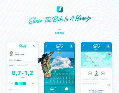 Lift App – Ridesharing in a breeze