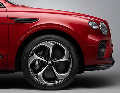 Bentley Bentayga S - CGI & Retouching