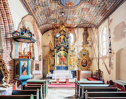 Churches: Żuławy