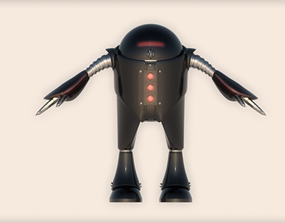 Modelado de robot 3D