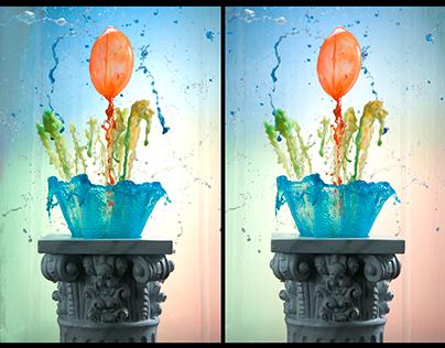 Stereo 3d Splash