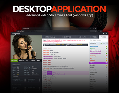 Desktop Video Streaming Application Design