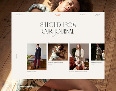Auclair – Website Design