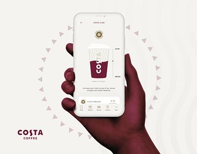 Costa Coffee - Loyalty App