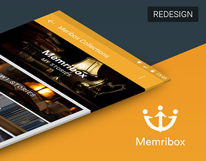 Memribox App Redesign