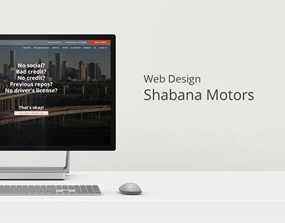 Shabana Motors | Web Design