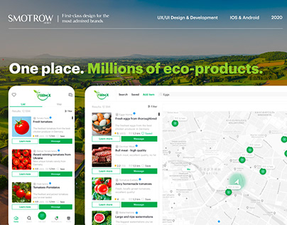 One Place. Millions of eco-products | Farmx Platform