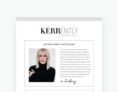 Kerrently Email Design