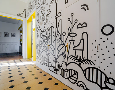 Mural Painting decoration