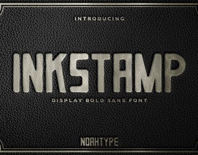 Inkstamp Font