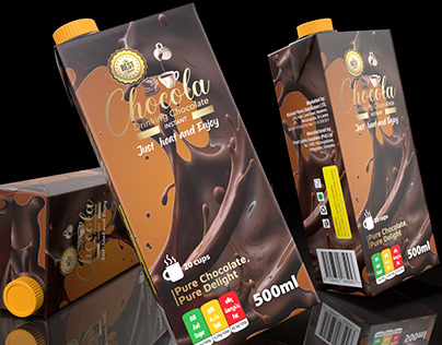 """Chocola"" Drinking Chocolate Packaging Design"
