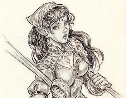 D&D Character Illustrations