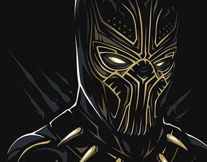 Prints for Indiwid: MARVEL pt.2 / Black Panther