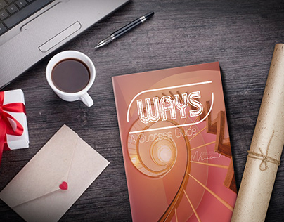 Ways Book Cover Design + free PSD mockup