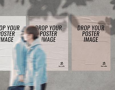 Urban City Poster Mockup (Free PSD)