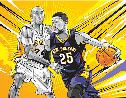 NBA All Star Vector Art Compilation