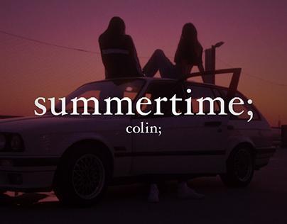summertime;
