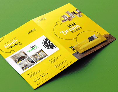 Lemon Interiors - Branding Collaterals