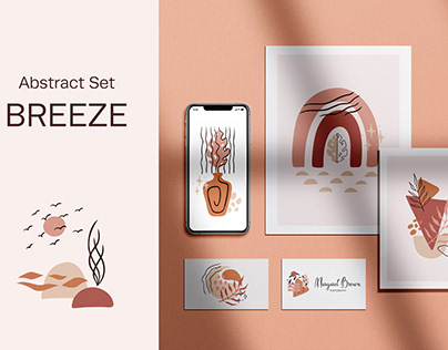 Breeze - Abstract Shapes & Lines Set