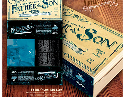 Special 'FATHER&SON' packaging design competition
