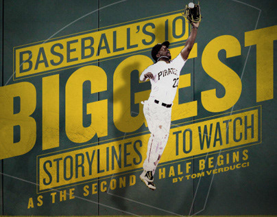 Sports Illustrated Website Graphics