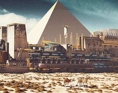 Egyptian spaceship