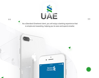 Standard Chartered Bank (UAE) Redesign