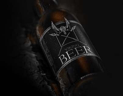 Viking Beer for Real Mans! Black Label Design