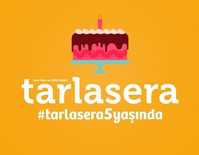 tarlasera magazine kinetic typography