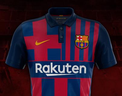 "FC Barcelona ""Logo/Shirt"" concept design."